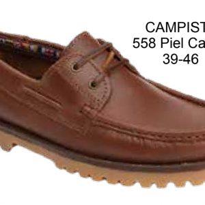 CAMPISTA -NAUTICO PIEL CAMEL